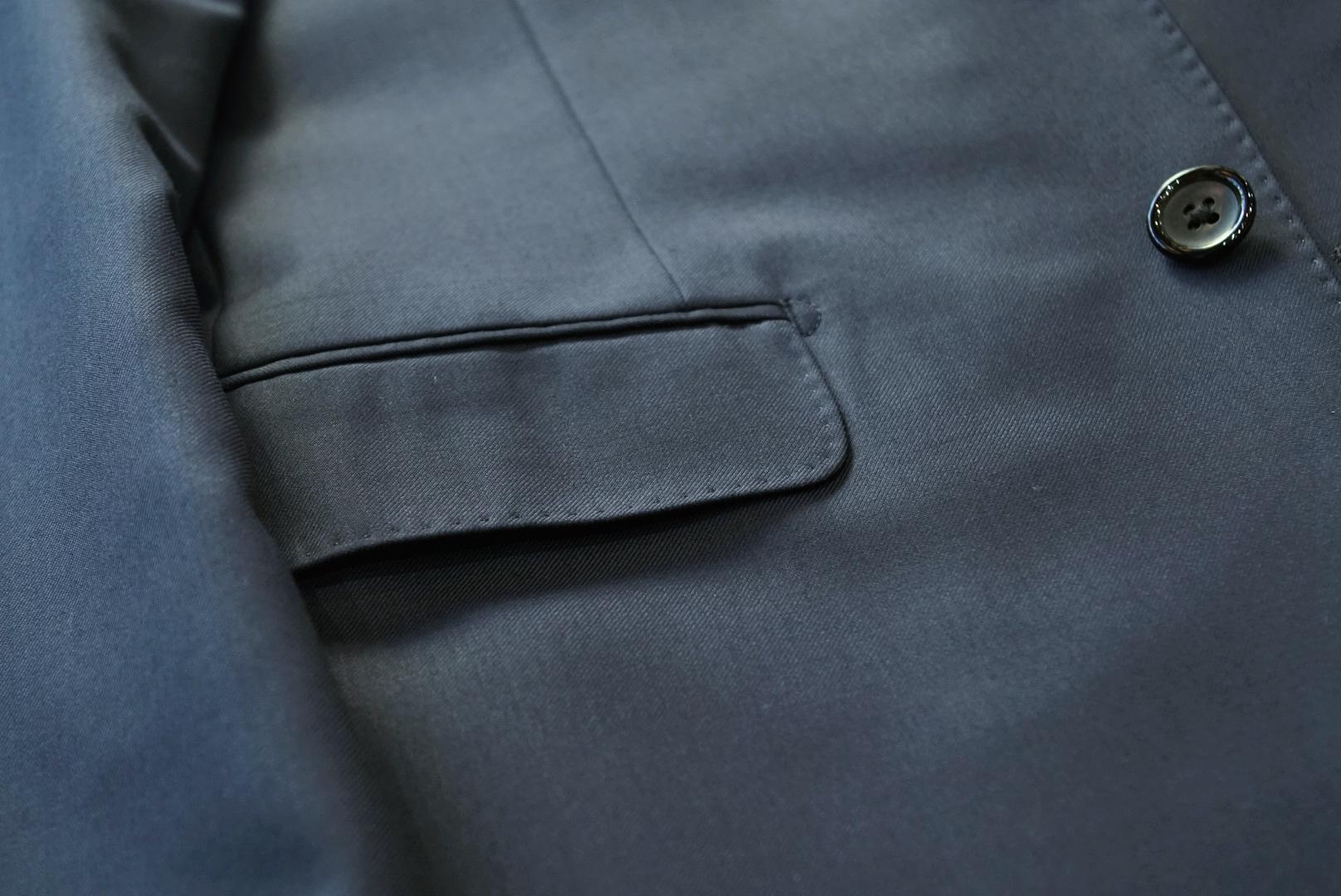 水平・蓋付の腰ポケット